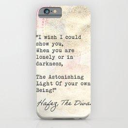 Hafez, The Divan iPhone Case