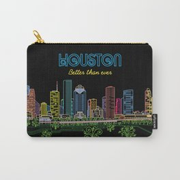 Houston Better Than Ever Circuit Carry-All Pouch