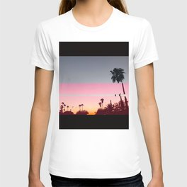 Palm tree infierno T-shirt