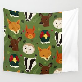 British Woodlands Wall Tapestry