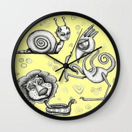 Creature Feature Wall Clock