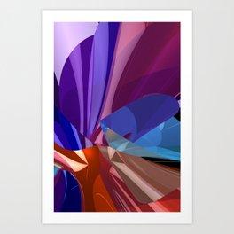 3D-reflections -1- Kunstdrucke
