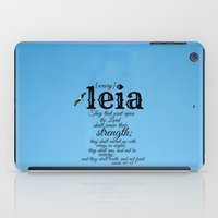 leia iPad Cases featuring Leia by KimberosePhotography