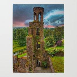 Blarney Castle Colour Poster