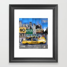 Essence of New York Framed Art Print