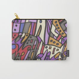 Feel This Real Forever (purple) Carry-All Pouch