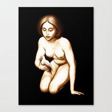 Dove Canvas Print