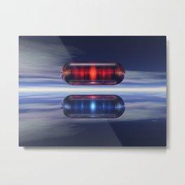 Capsules In Space Metal Print