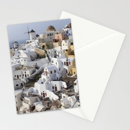 Windmills of Oia Stationery Cards