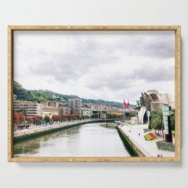 Bilbao autumn Serving Tray