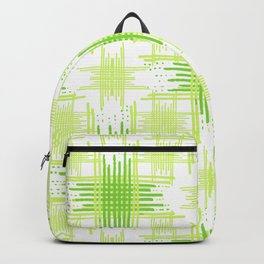 Intersecting Lines Pattern Design Backpack