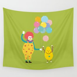 Laugh every day Wall Tapestry