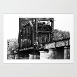 The 10 Bridge Art Print