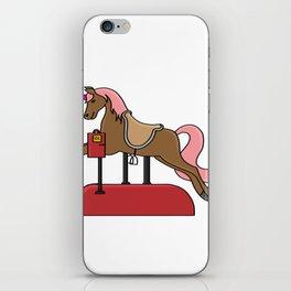 Children horse Pony Horse riding gift present iPhone Skin