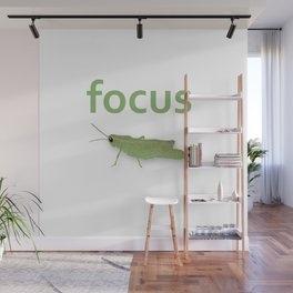 Focus Grasshopper Wall Mural