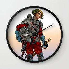 Knight of the Blackrocks Wall Clock