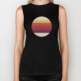 Retro Video Cassette Color Palette Biker Tank