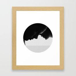 Persona - shadows - 1966. Framed Art Print