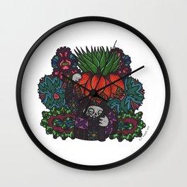 Majesty (Botanical Bliss) Wall Clock