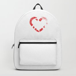 Heart Vaulting Gymnast Horse Acrobats Gift Backpack
