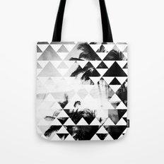 Monochromatic Island Tote Bag