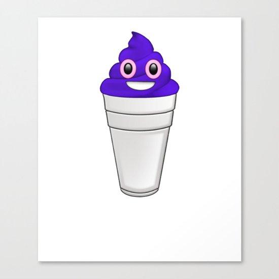 Pop Emoji Canvas Print
