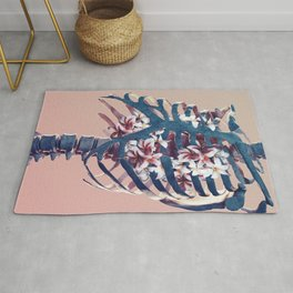 decorated heart Rug
