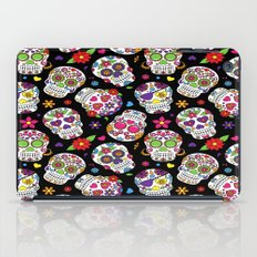 Colorful Sugar Skulls iPad Case