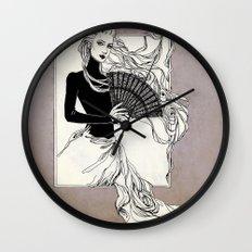 Vintage lady#3 Wall Clock