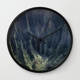 The Protected Meadow Wall Clock