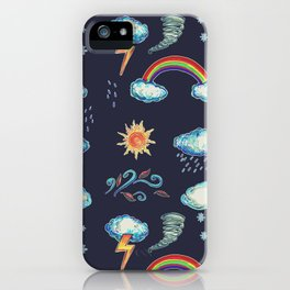 Blame It On The Weather-man iPhone Case