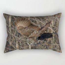 Leap of faith Rectangular Pillow