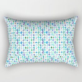 Blue eggs Rectangular Pillow