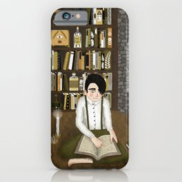 october library iPhone Case
