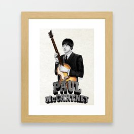 Macca Framed Art Print