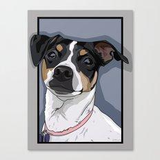 Hailey Dog Canvas Print