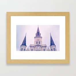 jackson square Framed Art Print