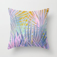 Jungle Abstraction Throw Pillow