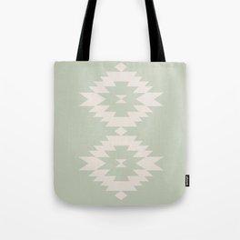 Southwestern Minimalism - Sage Green Tote Bag