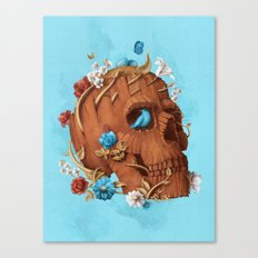 Skull Tree Canvas Print
