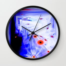 DEMENSIONAL ENTRANCES Wall Clock