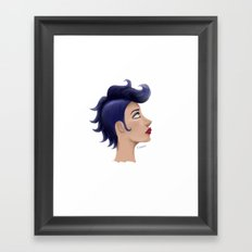 BluHawk Framed Art Print