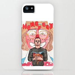 Honey Boy watercolor - Shia LaBeouf Lucas Hedges film 2019 iPhone Case