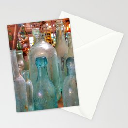 Glass Bottles Stationery Cards