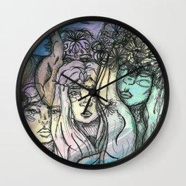 The Fae Wall Clock