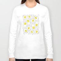 eggs Long Sleeve T-shirts featuring eggs by AnnaToman