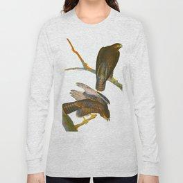 Black Warrior Bird Long Sleeve T-shirt