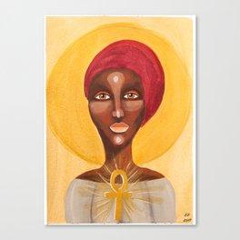 Goddess no 5 Canvas Print