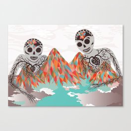 Spectres Canvas Print