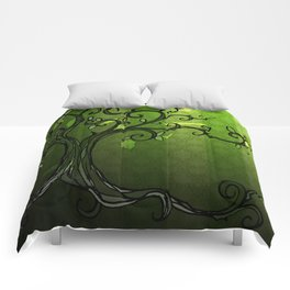 LEAVE - Summer Green Comforters